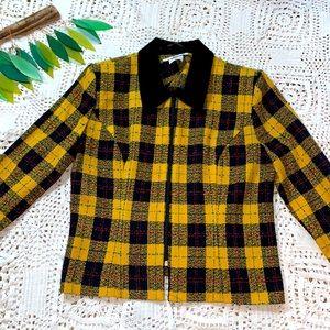 Fun clueless inspired plaid jacket